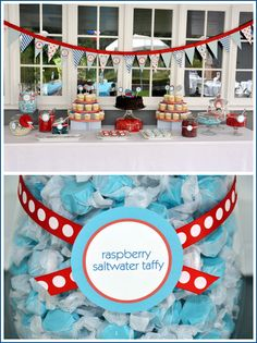 Half Baked – The Cake Blog » Real Party: Thomas the Train Birthday