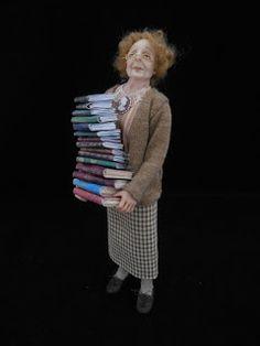 Julie Campbell Doll Artist: Old Folk