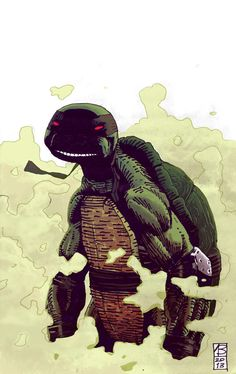 Dark Turtle by vlad legostayev