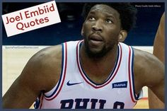 Check out these Joel Embiid quotes and some fast facts on The Process. The Cameroonian basketball star is lighting up the NBA. Basketball Practice Plans, Basketball Drills, Basketball Coach, Team Mom, A Team, Motivational Basketball Quotes, Basketball Slogans, Cycling Tips, Road Cycling