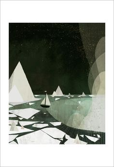 I want pretty much every print that Jon Klassen does. I've been contemplating this particular one for a while.