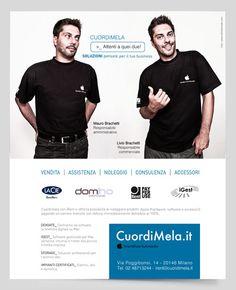 """Campagna istituzionale Apple Store CuordiMela """"Attenti a quei due"""" #cuordimela #adv #advertising #apple"""