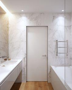 Bathroom Storage, Small Bathroom, Master Bathroom, Loft Interior Design, Bathroom Interior Design, Dream Apartment, Apartment Design, Toilet Wall, Loft Interiors