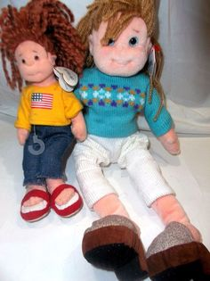 Lot of 2  Ty Beanie Plush Cool Cassidy American Millie #Ty