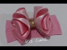 Como fazer laço de gorgurão de maneira simples e pratica DIY , TUTORIAL ,PAP By Iris Lima - YouTube