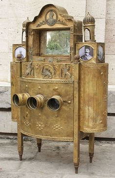 ShahreFarang (peepbox) at Golestan Palace