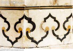 Details in the Taj Mahal.