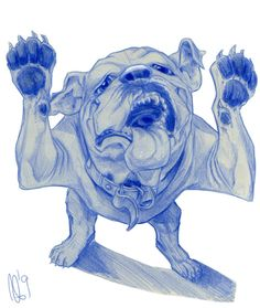 Bulldog for Jeff by SuperStinkWarrior.deviantart.com on @deviantART