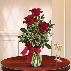Order Thoughts of You Bouquet with Red Roses - thoughts of you from The Flower Cart, Inc, your local Chesterton florist. For fresh and fast flower delivery throughout Chesterton, IN area.
