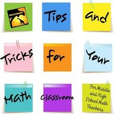 FREEBIE: Tips and Tricks for Your Math Classroom for Middle and High School Teachers