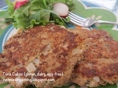 Not Missing a Thing! Allergy Friendly Cooking: Tuna Cakes {gluten, dairy and egg-free}