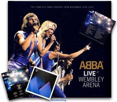 """The Abba album """"Live At Wembley Arena"""" entered the UK charts on this day in 2014 #Abba #AbbaLiveAtWembleyArena Abba Concert, Uk Charts, Wembley Arena, October 2014, Retro, About Me Blog, Dating, Fans, Live"""