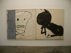 Mural Painting, Artist Painting, Painting & Drawing, Paintings, Rose Wylie, Modern Art, Contemporary Art, Cat Skull, Illustration Art