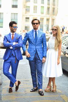 Milan Fashion Week // Men´s Street Style  #menstyle #menswear #mensfashion #MFW #MMFW #MilanFashionWeek