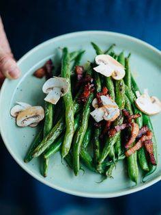 【ELLE gourmet】さやいんげんのガーリックソテーレシピ|エル・オンライン