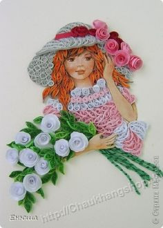 Some crazy talent out there ;)  Mẫu tranh quilling