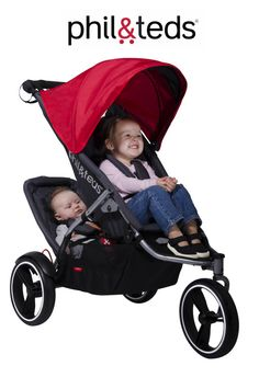 dual strollers for infant and toddler | Giveaway: phil&teds S4 Stroller ($399.99)