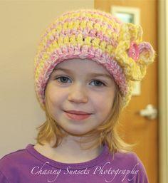 Crocheting hats!