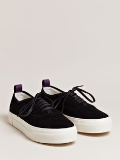 Minimal + Classic: Eytys unisex Suede Mother Sneakers