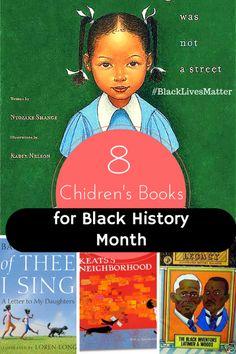 8 Children's Books for Black History Month