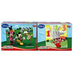 Mickey Mouse Clubhouse 2-Puzzle Pack [24 PCS - Assorted Designs]$9.99