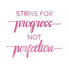 Team motto...always progress!!