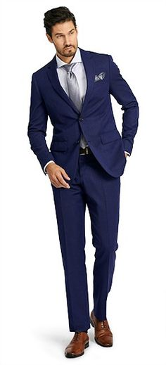 Make every occasion a special occasion with our luxury Super 150s wool fabrics. The best suit in your closet offers warmth, softness and that 'je ne sais quoi' quality that turns heads and gives you that special edge.