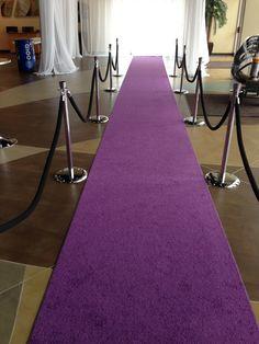 Purple Carpet For Event Mardi Gras Carpet Runner