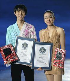 Hanyu, Asada gain entry to Guinness Book - The Japan News