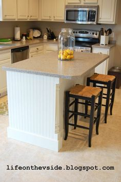 Kitchen Island Makeover Ideas starter home to dream home: the kitchen island reveal | kitchens
