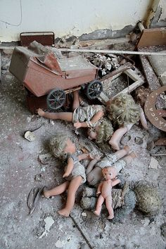 Toys in a Pripyat school. Named after the nearby Pripyat River, Pripyat was founded on 4 February 1970, the ninth nuclear city in the Soviet Union, to serve the nearby Chernobyl Nuclear Power Plant.