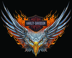 harley-davidson shield tattoo for woman | ... .bullgallery.com/2012/09/download-7-harley-davidson-eagle-logos.html