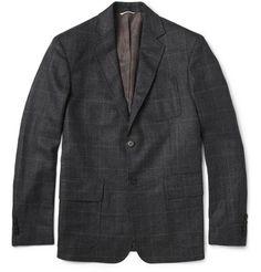 Billy Reid Rustin Prince of Wales Check Wool Blazer | MR PORTER