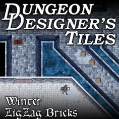 Frozen Castle and Undead map tiles for use in creating RPG maps on online Virtual TableTops