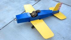 Squirrel Steals Airplane - the Whole Story--OK, we know this isn't real but...it is funny.