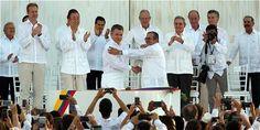 ¡HISTÓRICO! SE FIRMÓ EN CARTAGENA EL ACUERDO DE PAZ ENTRE GOBIERNO Y FARC - FARC