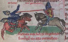 Thomasin <Circlaere>   Welscher Gast (S) Regensburg?, 1328/1359 Cod. poet. et phil. 2° 1  Folio 21v