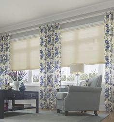 Drapes, and blinds and shutters oh my! Call Blinds for Less for more info on our Spring Specials! Soft Furnishings, Cellular Shades Honeycombs, Cell Shade, Bedroom Shades, Blinds For Less, Bow Window Treatments, Honeycomb Shades, Shades Blinds, Window Treatments