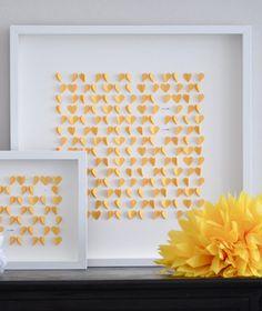 sarahandbendrix's shop on etsy. love paper hearts!