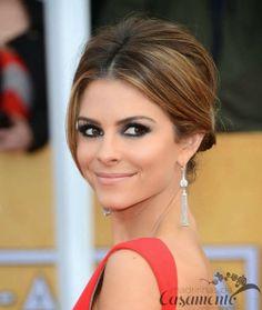 Madrinhas de casamento: Os melhores penteados de festa de Maria Menounos