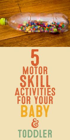 5 Motor Skill Activities For Your Baby & Toddler