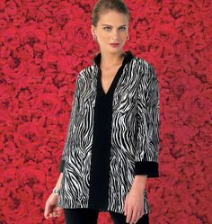 K4016 | Misses' Tunics | New Products | Kwik Sew Patterns