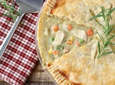 You'll love this easy chicken pot pie recipe that features easy shortcuts and so much amazing flavor! This classic weeknight dinner is full of goodness! Crockpot Sausage And Potatoes, Easy Crockpot Chicken, Easy Chicken Pot Pie, Cream Of Chicken Soup, Chicken Recipes, White Chicken, Cheesy Chicken, Baked Chicken, Easy Goulash Recipes