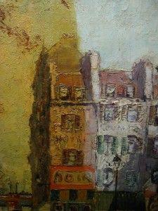 verwijderen nicotine op een schilderij