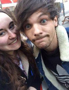 Louis today in London 3/7/15