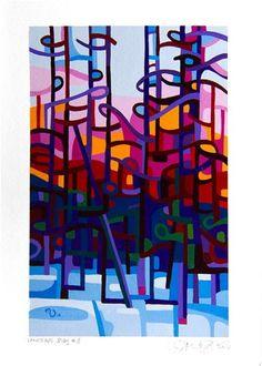 "Daily Paintworks - ""Landscape Study #3"" - Original Fine Art for Sale - © Mandy Budan"