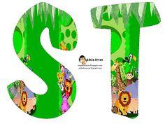 Alfabeto Animales de la Selva.