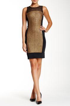 Debbie Shuchat | Sleeveless Coated Tweed Dress | Nordstrom Rack  Sponsored by Nordstrom Rack.