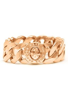 MARC BY MARC JACOBS 'Turnlock - Katie' Large Bracelet available at Nordstrom - gold or rose