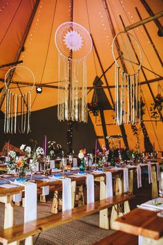 Sami Tipi Weddings   A Stunning blank canvas to add your own creative sparkle too.  Find out more events@samitipi.co.uk  Image by Frankee Victoria